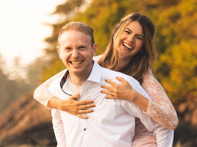 Chris and Vanessa's wedding in Ucluelet, British Columbia 41
