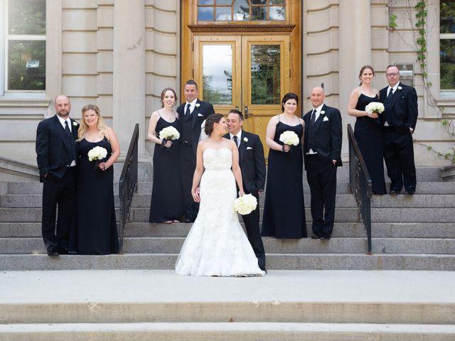 The wedding of Matt and Julie
