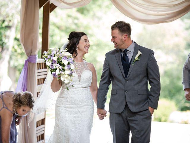 The wedding of Kayla and Eddie