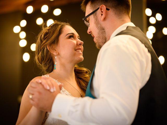 The wedding of Amanda and Mathew
