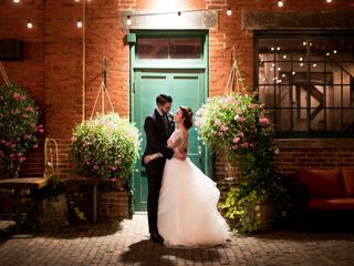 The wedding of Colleen and James