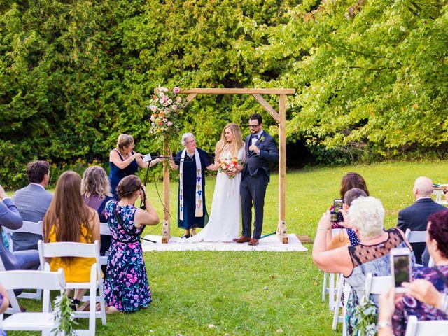 Matt and Claire's wedding in Belwood, Ontario 69