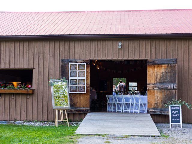 Matt and Claire's wedding in Belwood, Ontario 84