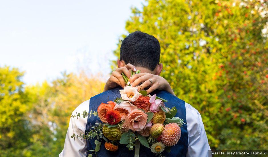 Matt and Claire's wedding in Belwood, Ontario