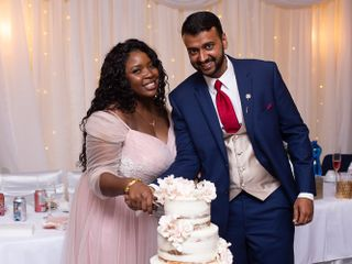 The wedding of Temi and Hemant 1