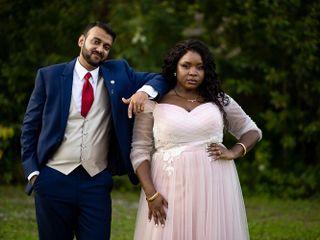 The wedding of Temi and Hemant 2