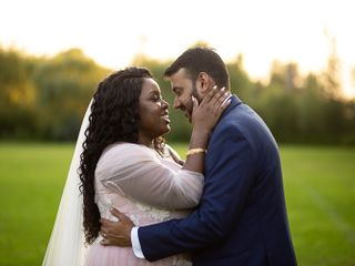 The wedding of Temi and Hemant