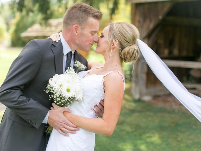 Mark and Jenn's wedding in Jordan Station, Ontario 7
