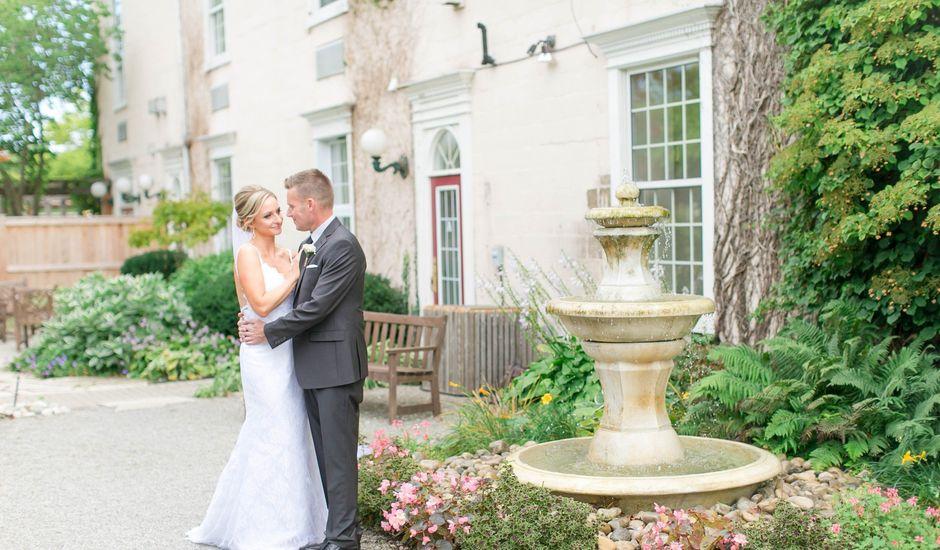 Mark and Jenn's wedding in Jordan Station, Ontario