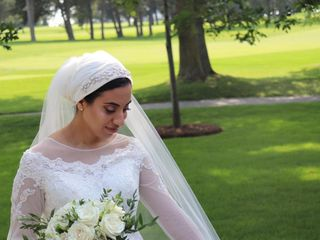 The wedding of Mohamed and Hajjer 1