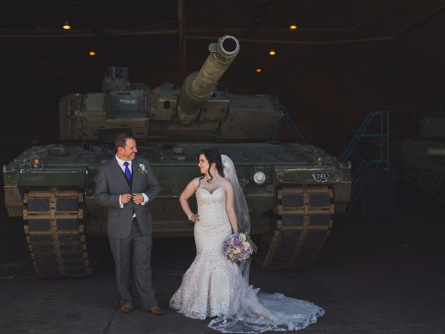 The wedding of Ashley and Marc Andre