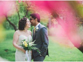 The wedding of Rachel and Rohan