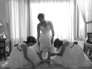 The wedding of Jennifer and Travis 1
