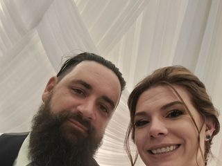 The wedding of Gina and Steve 1