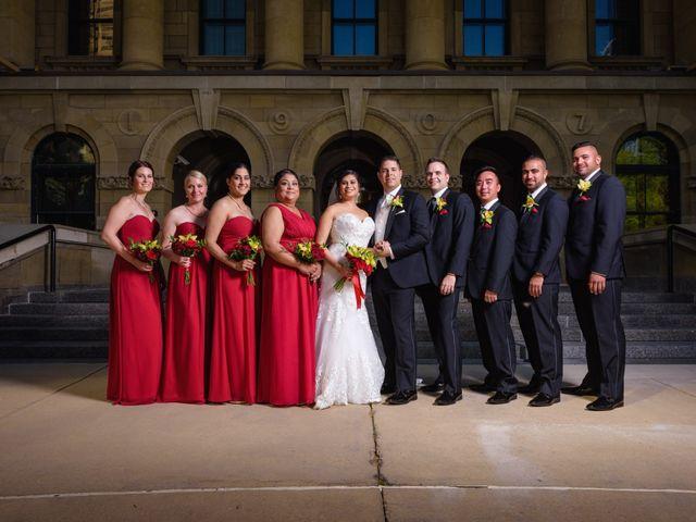 Travis and Jennifer's wedding in Calgary, Alberta 9