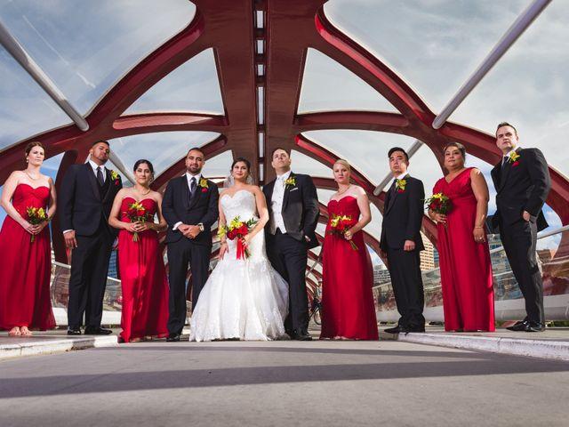 Travis and Jennifer's wedding in Calgary, Alberta 16