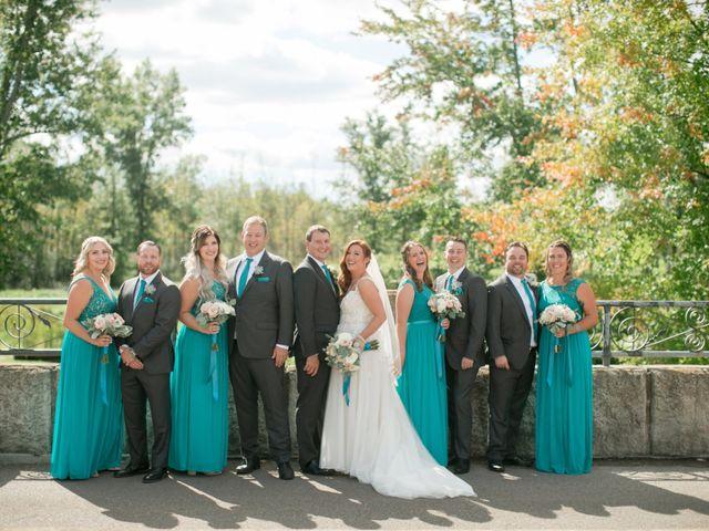 David and Leanne's wedding in Niagara Falls, Ontario 2