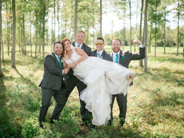 David and Leanne's wedding in Niagara Falls, Ontario 23