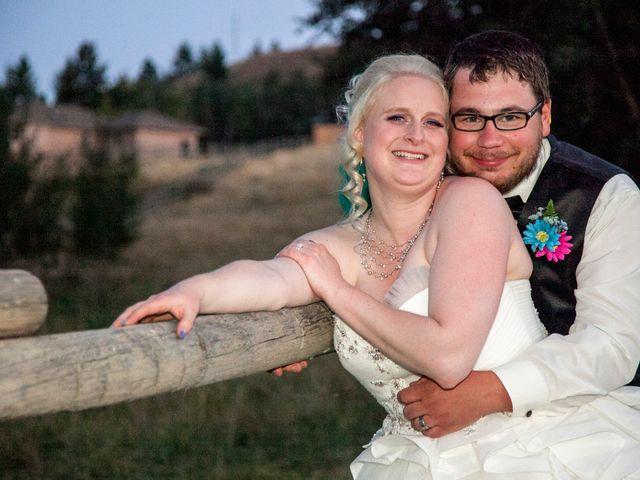 The wedding of Heather and Devon
