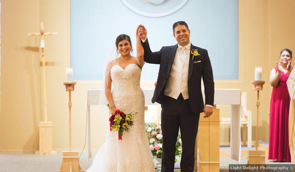 Travis and Jennifer's wedding in Calgary, Alberta