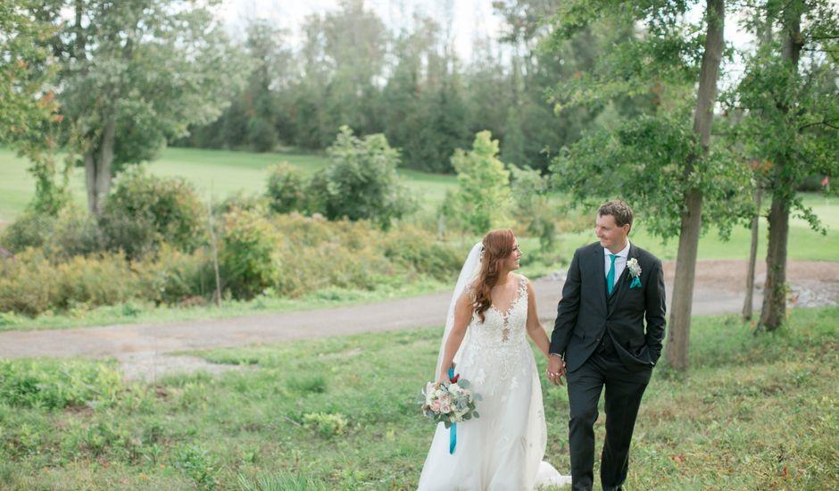 David and Leanne's wedding in Niagara Falls, Ontario