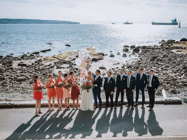 Steve and Claire's wedding in Vancouver, British Columbia 9