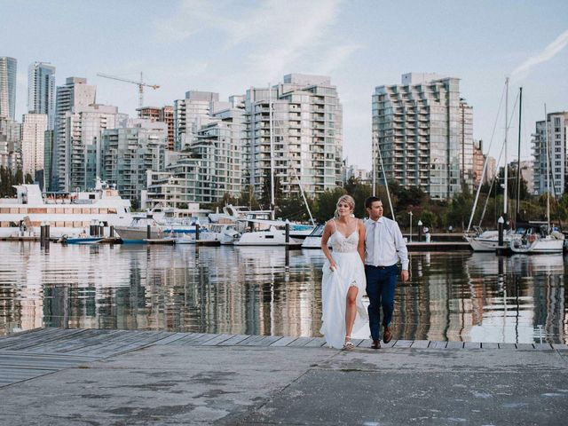 Steve and Claire's wedding in Vancouver, British Columbia 2