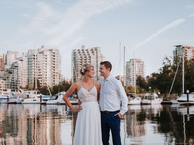 Steve and Claire's wedding in Vancouver, British Columbia 13