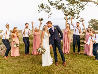 The wedding of Kari and Tyler