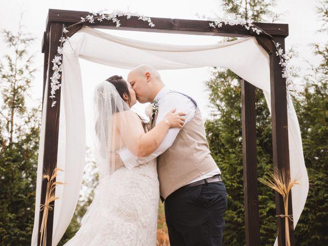 Dallas and Tanisha's wedding in Abbotsford, British Columbia 6