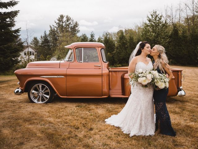 Dallas and Tanisha's wedding in Abbotsford, British Columbia 1