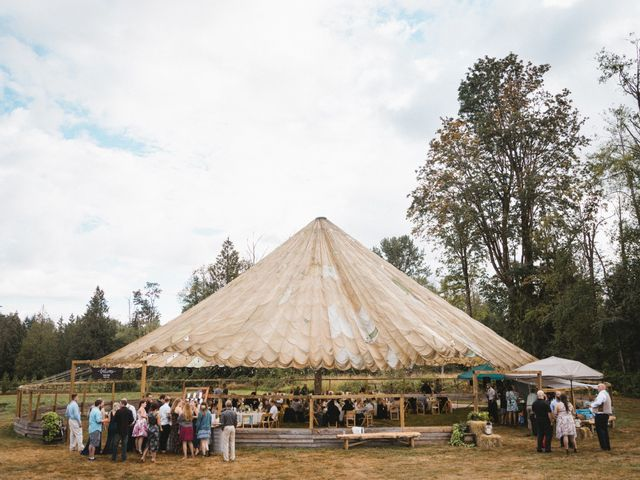 Dallas and Tanisha's wedding in Abbotsford, British Columbia 16