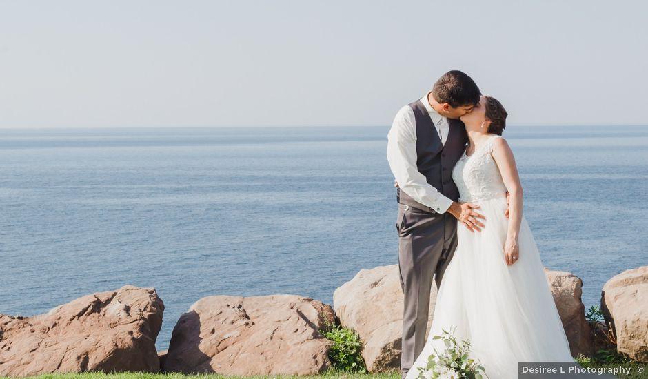 John and Brianna's wedding in Wallace, Nova Scotia