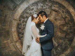 The wedding of Sang and Joseph