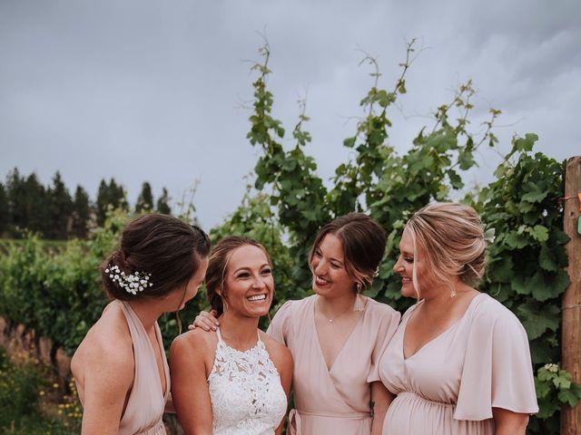 Marcus and Mei's wedding in Okanagan Falls, British Columbia 6