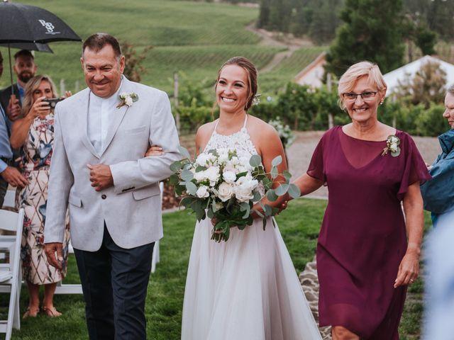 Marcus and Mei's wedding in Okanagan Falls, British Columbia 9