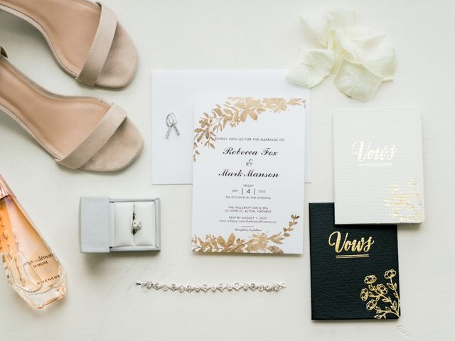 Mark and Rebecca's wedding in Alton, Ontario 20