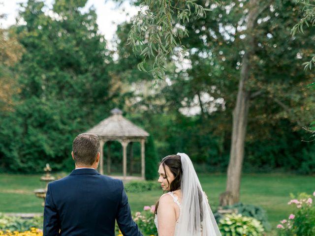 Mark and Rebecca's wedding in Alton, Ontario 3
