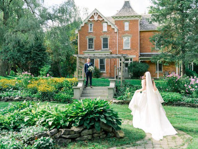 Mark and Rebecca's wedding in Alton, Ontario 49