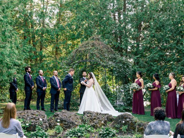 Mark and Rebecca's wedding in Alton, Ontario 77