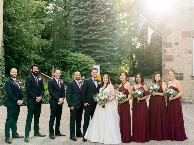 Mark and Rebecca's wedding in Alton, Ontario 100