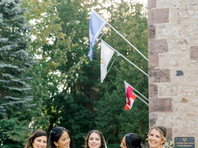 Mark and Rebecca's wedding in Alton, Ontario 110