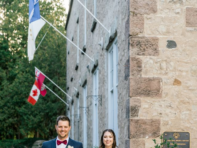 Mark and Rebecca's wedding in Alton, Ontario 111