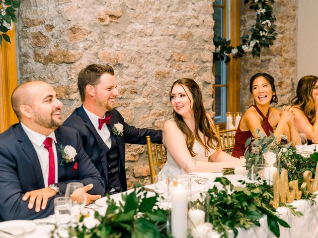 Mark and Rebecca's wedding in Alton, Ontario 2