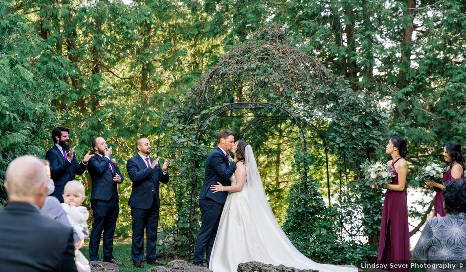Mark and Rebecca's wedding in Alton, Ontario