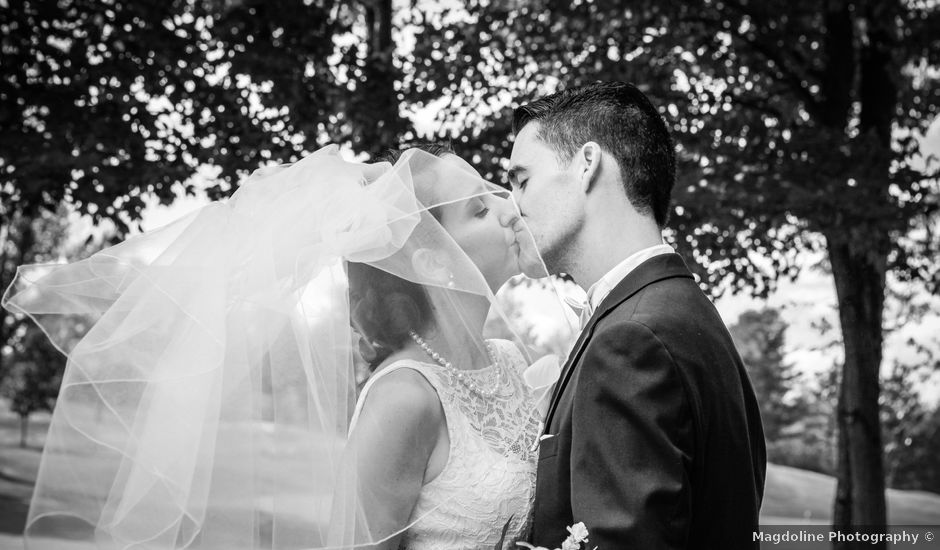 Patrick and Keely's wedding in Bromont, Quebec