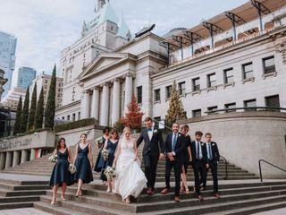 The wedding of Rachael and Richard