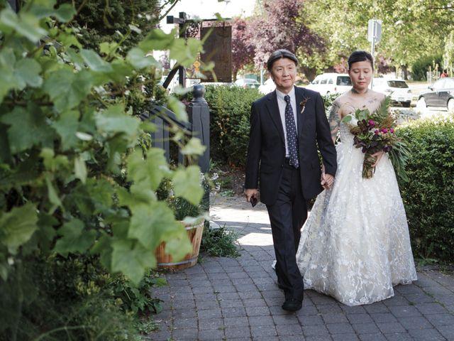 Timothy and Artemis's wedding in Victoria, British Columbia 17