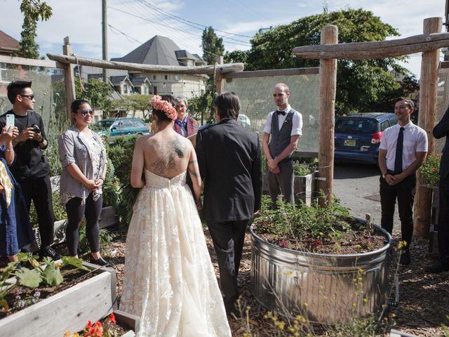 Timothy and Artemis's wedding in Victoria, British Columbia 20