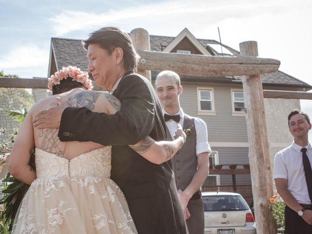Timothy and Artemis's wedding in Victoria, British Columbia 21